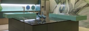 Silestone: Acqua Fraccaroli, custom color